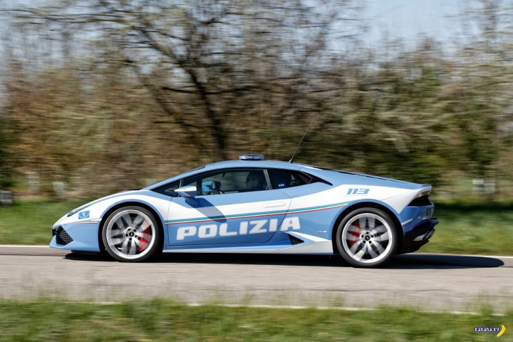 Huracán для итальянских полицейских