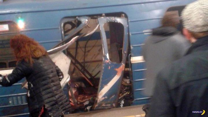 Взрыв в питерском метро - обновлено