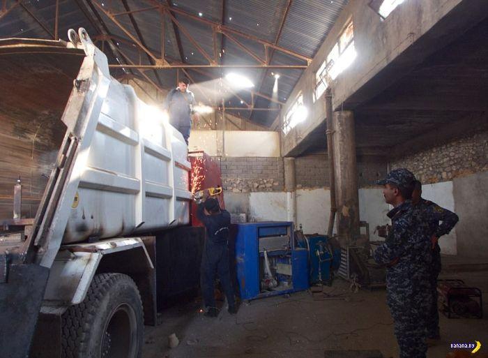 ИГИЛьский бронетанковый завод