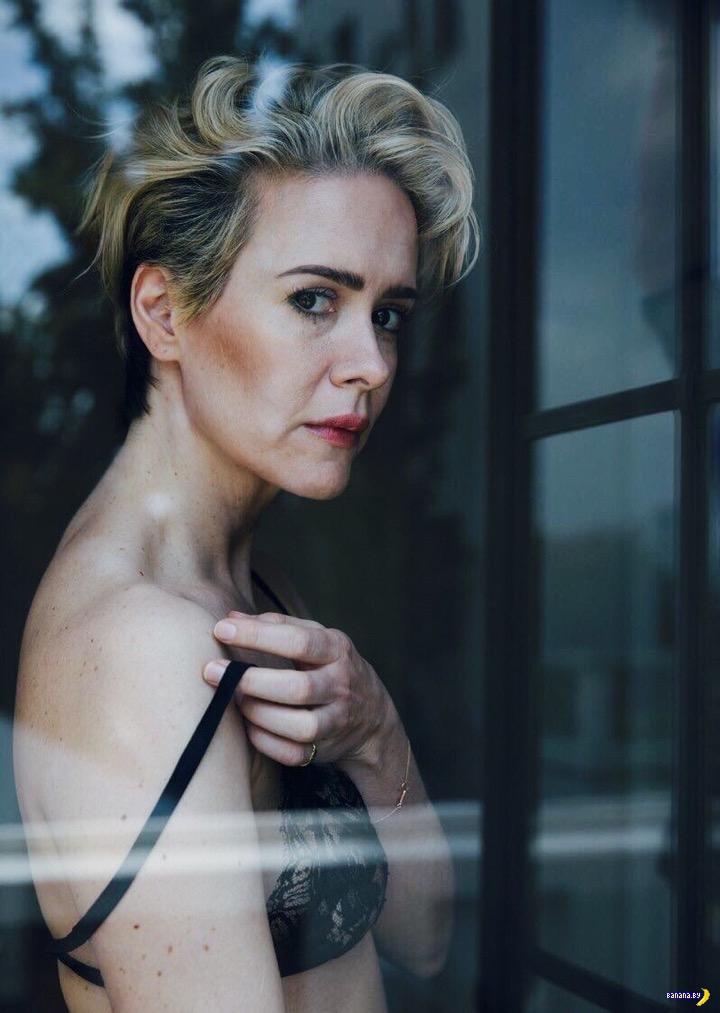 Сара Полсон для W Magazine