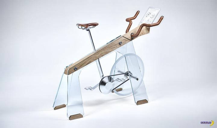 Велотренажер на стиле