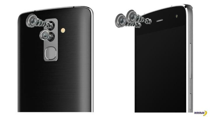 Смартфон от Alcatel –4 камеры!