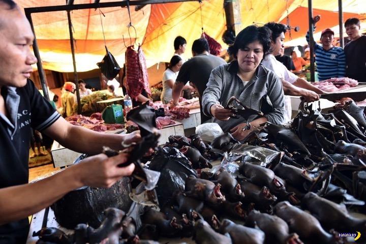 Базарчик в Индонезии