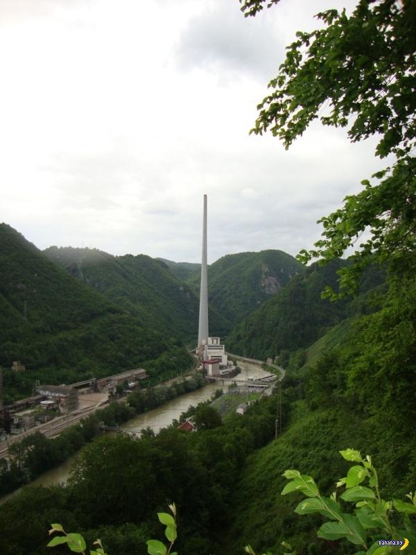 Самая высокая труба в Европе