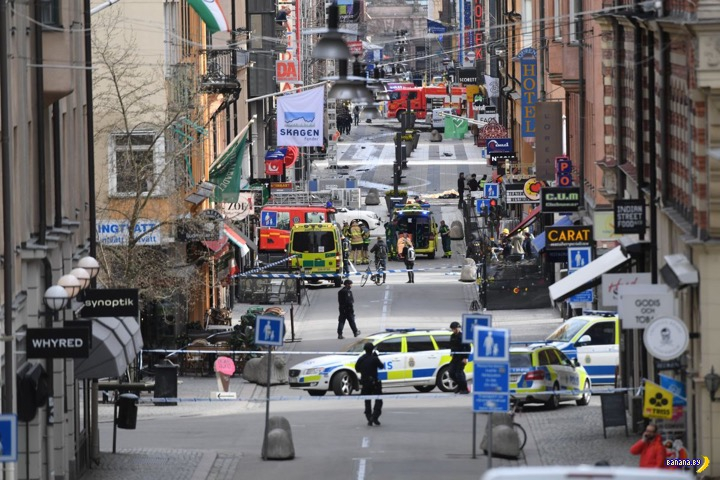 Стокгольм –хроника теракта