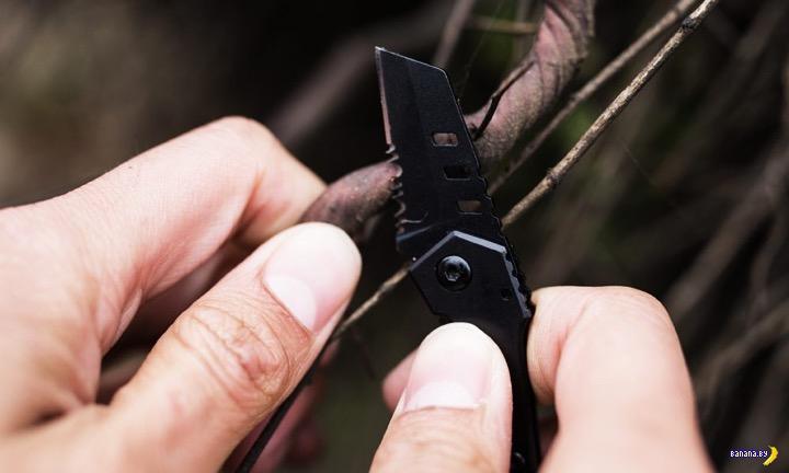 Самый маленький в мире тактический нож