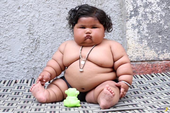 Удивительная история толстушки
