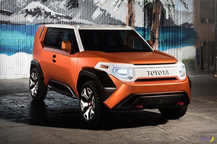 Концепт Toyota FT-4X