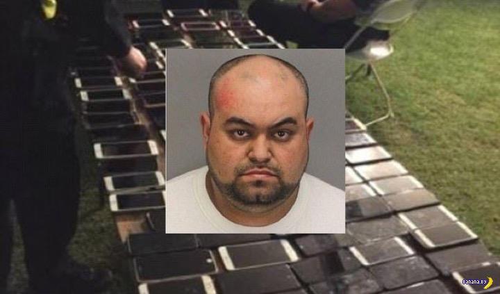Лихой вор украл более 100 смартфонов