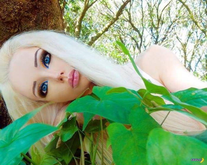 Валерия Лукьянова перестала краситься