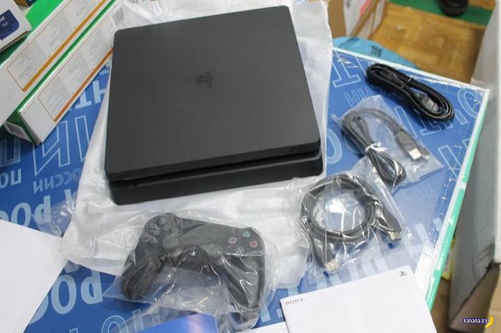 Шпион и его Sony Playstation 4