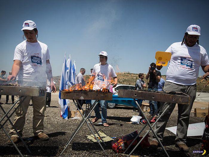 Как евреи троллят палестинцев