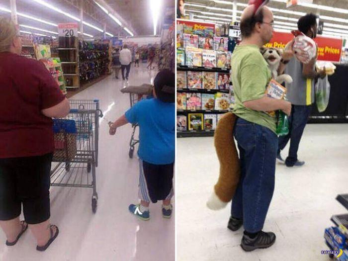 Яркие модники из Walmart - 9