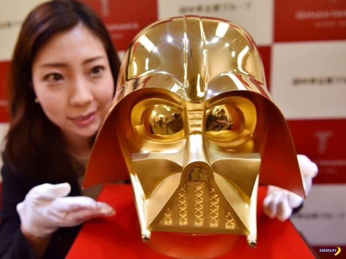 Золотая маска Дарта Вейдера