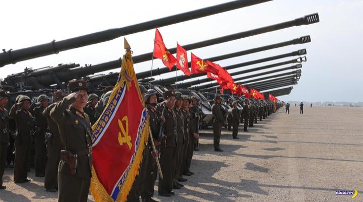 КНДР готова расстрелять море!