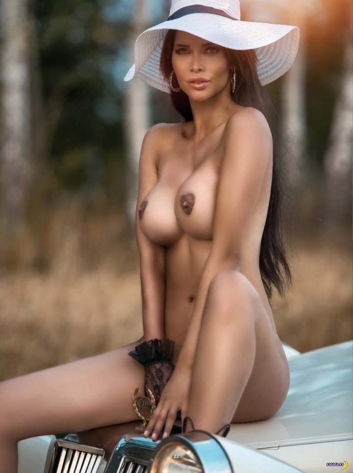 Микаэла Шефер для чешского Playboy