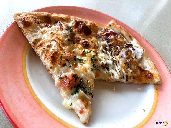 Безлимитная пицца в Японии