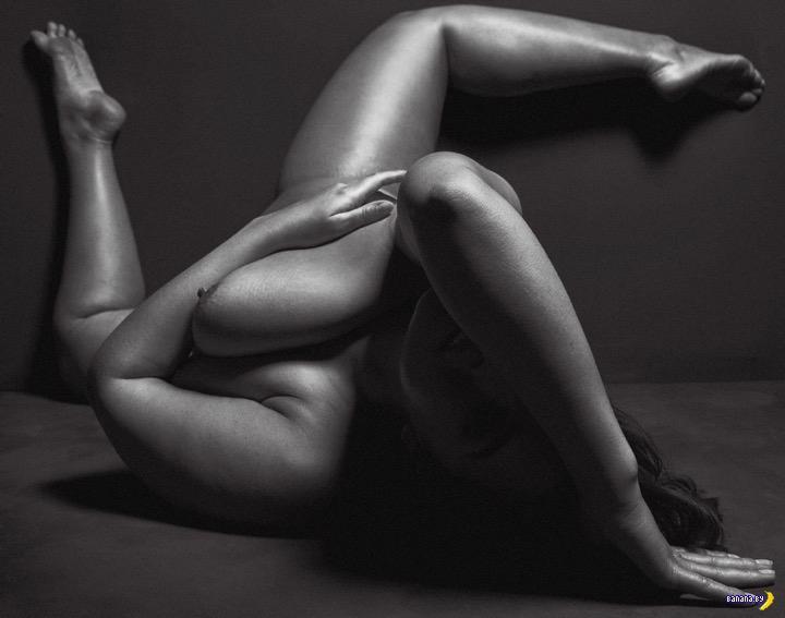 Монументальное тело Эшли Грэм
