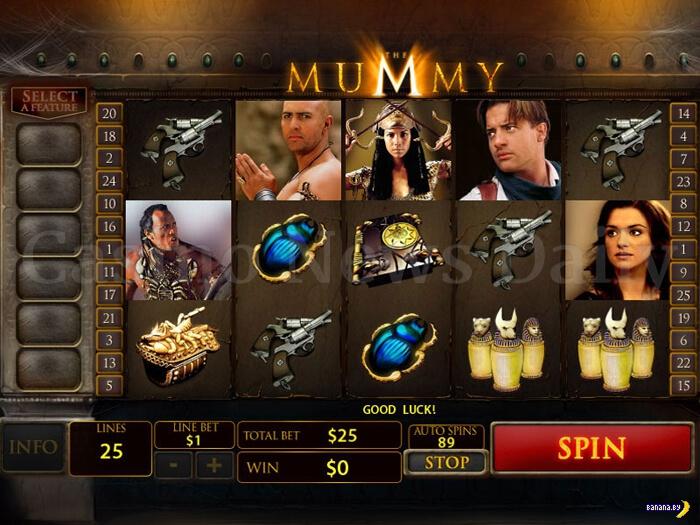 Популярные игровые автоматы на тему кино