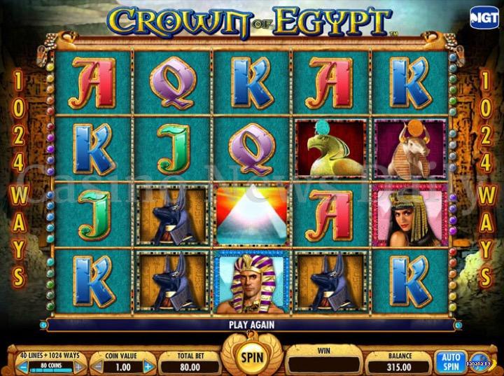 10 игровых автоматов на тему Египта