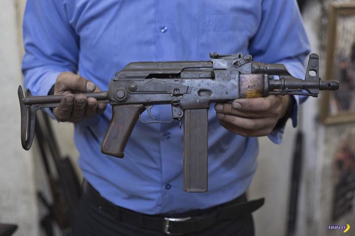 Безумные пушки от курда-оружейника