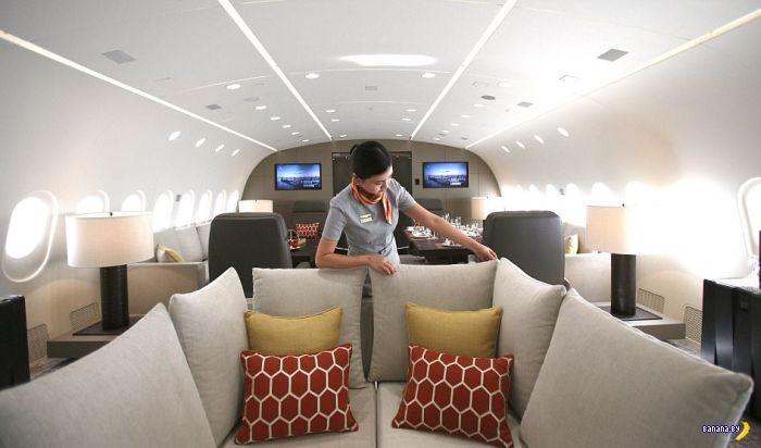 Лаунж в авиалайнере