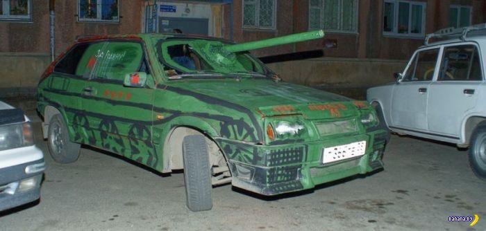 Парадное танкостроение