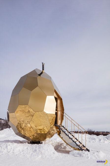 Золотое яйцо заставит попотеть!