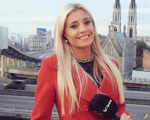 Спортивный журналист Мария