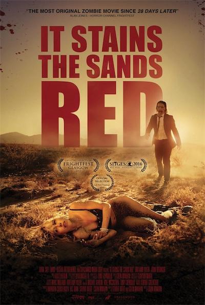 """Зомби-хоррор """"От этого песок становится красным"""""""
