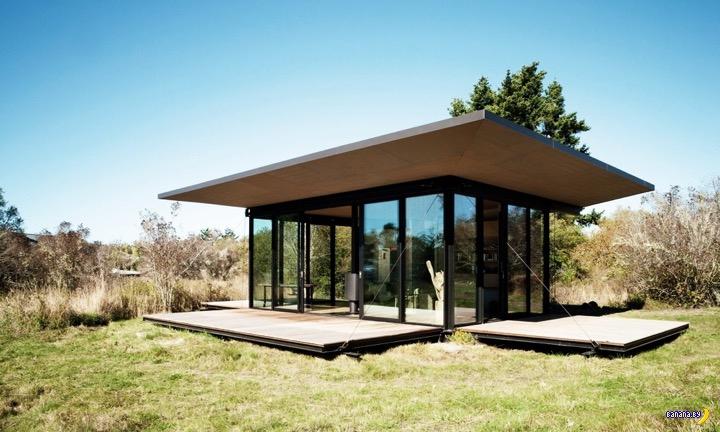 Уютная изба от  Olson Kundig