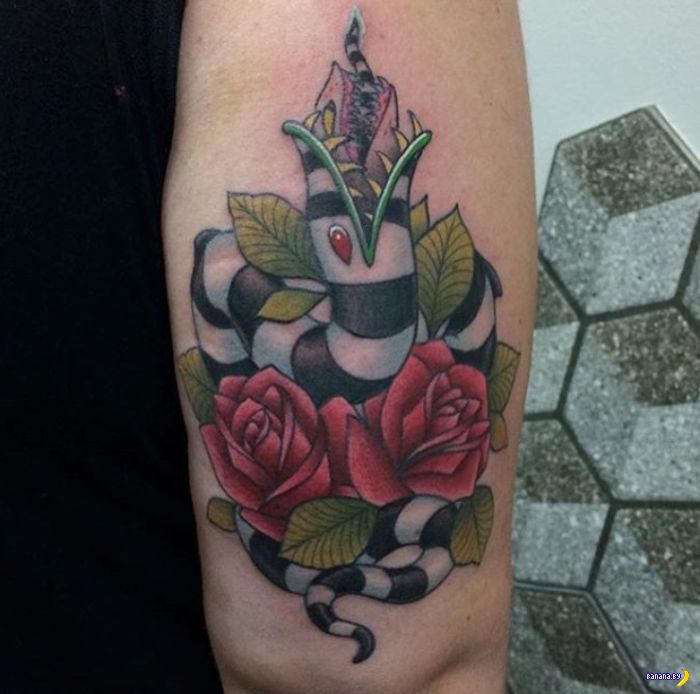 Татуировки на зависть - 85 - Киношные