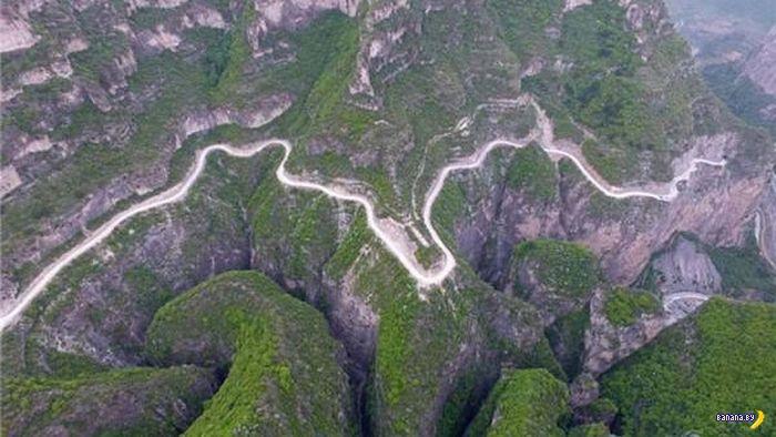 Китайский тоннель в скале