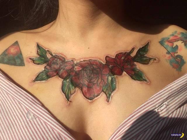 Проблемная татуировка и шрамирование