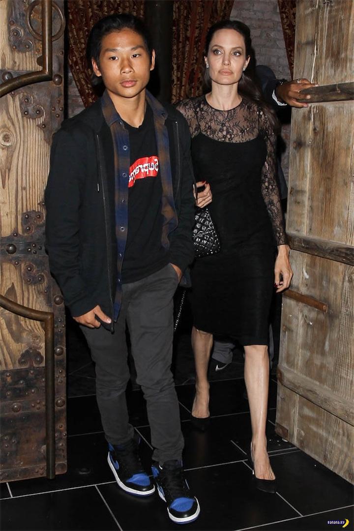 Фото свежие, а Джоли –нет