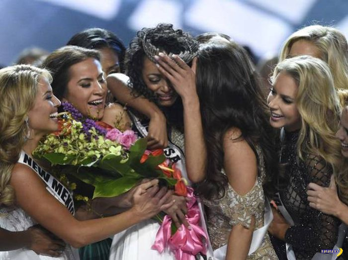 Выбрали Miss USA 2017 и она чёрная!