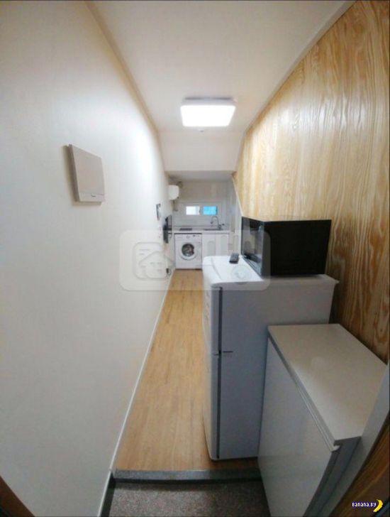 Недорогая квартира в Южной Корее