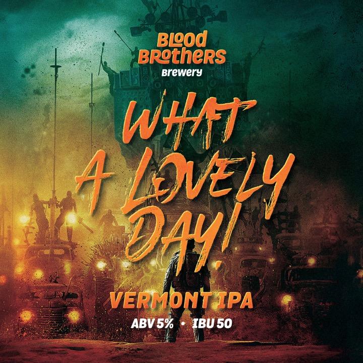 """Новый сорт от пивоваров """"Blood Brothers""""!"""