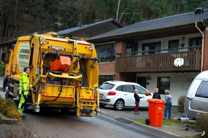 Volvo испытывает автономный мусоровоз