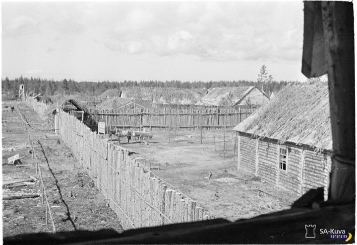 Советский лагерь глазами финских солдат