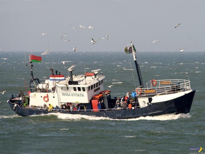 Подвиг белорусских рыболовов