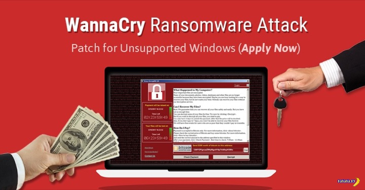 Новости про вирус WannaCry