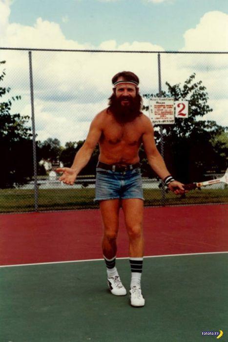 Мужские шорты в 1970-ые