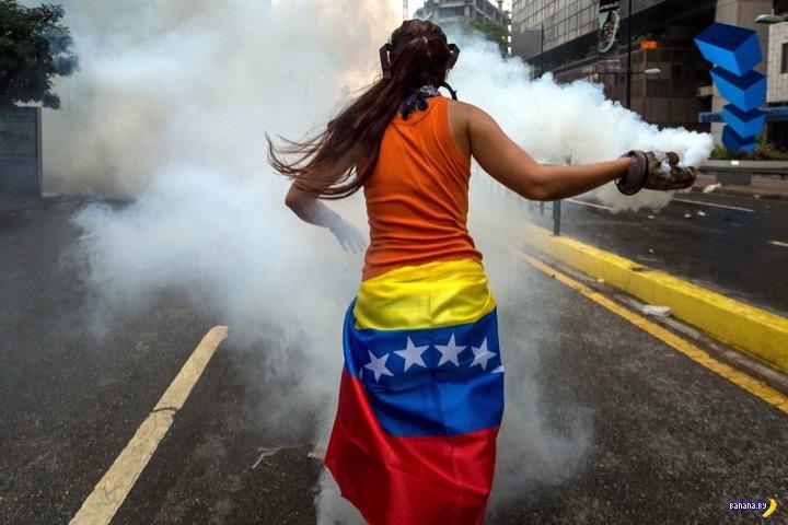 А что там в Венесуэле?