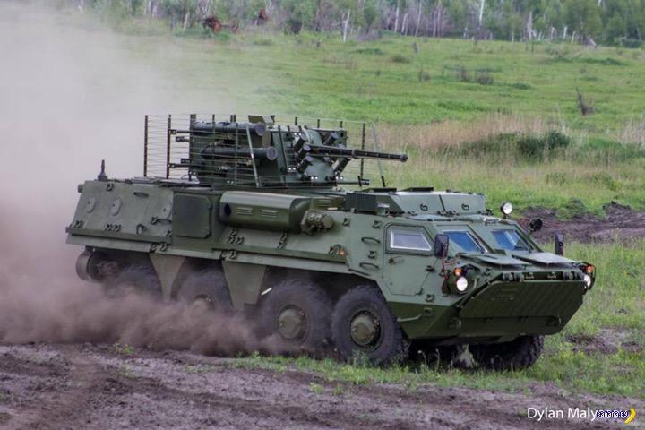 На Украине испытывают БТР 4-Е