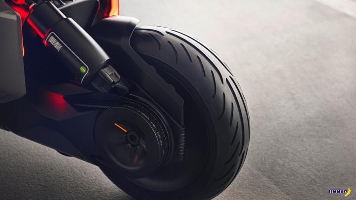Концепт скутера от BMW