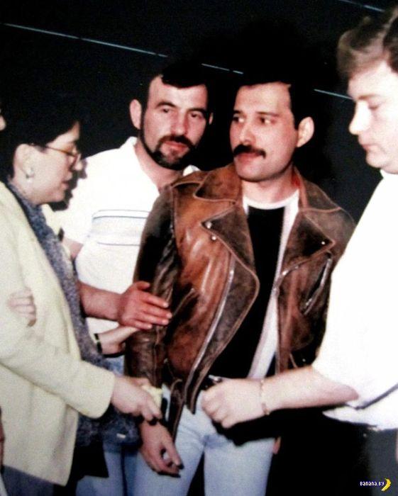 Фредди Меркьюри и его мужичок