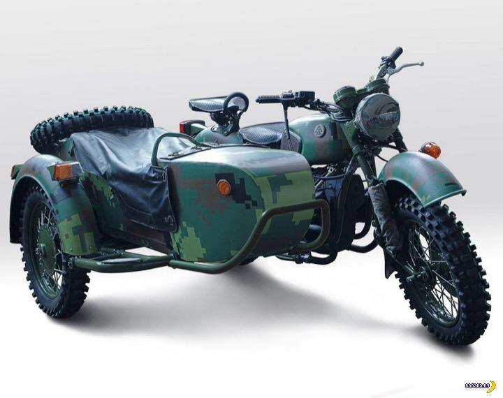 Мотоцикл Днепр-16М для украинской армии