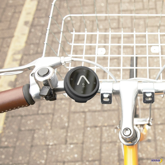 Умный компас для велосипеда