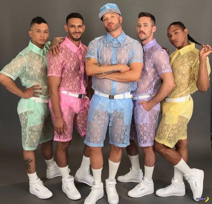 Кружевные шорты для настоящих мужчин